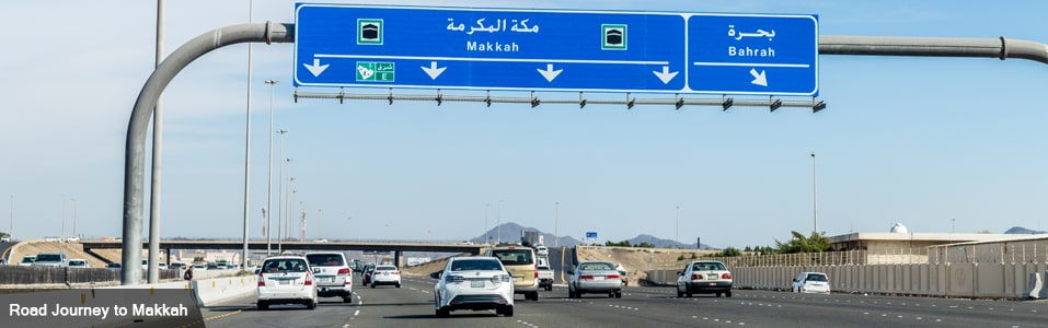 Transport options for Hajj and Umrah - By Road