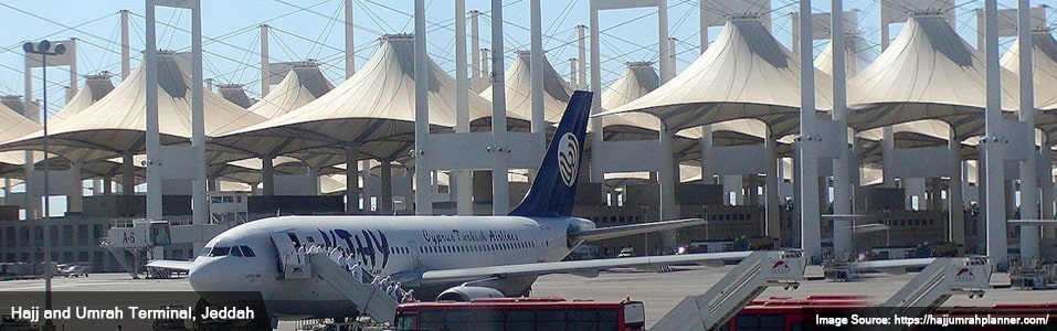 Transport options for Hajj and Umrah - By Air