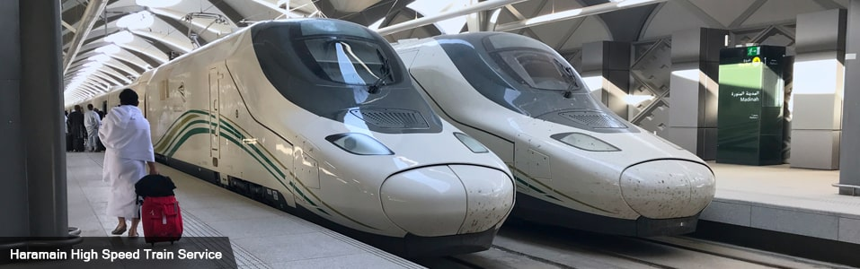 Transport options for Hajj and Umrah - By Train